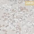 Baumwolle beschichtet strukturiert Akira grau-weiß III