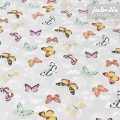 Wachstuch Schmetterling grau II