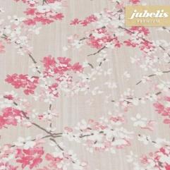 Baumwolle beschichtet strukturiert Akira rosa III 110 cm x 140 cm Küchentisch