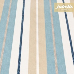 Baumwolle beschichtet strukturiert Juliana blau III