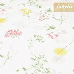 Baumwolle beschichtet strukturiert Wildblumen III 110 cm x 140 cm Küchentisch