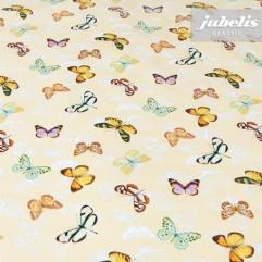 Wachstuch Schmetterling gelb II