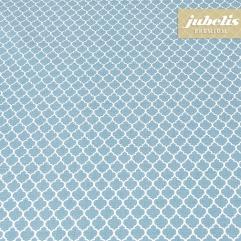 Baumwolle beschichtet abwaschbar Rachele pastellblau III