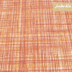 Baumwolle beschichtet strukturiert Justus orange III