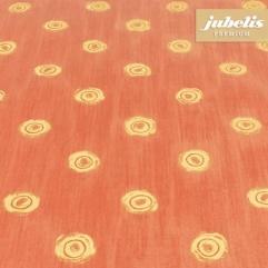 Baumwolle beschichtet abwaschbar Punto rot H