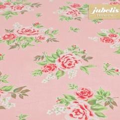 Baumwolle beschichtet abwaschbar Rosy rosa H R 200 cm x 140 cm