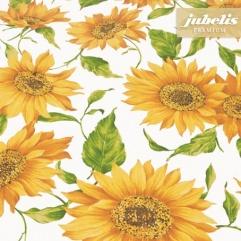 Baumwolle beschichtet abwaschbar Sunflower III 140 cm x 140 cm