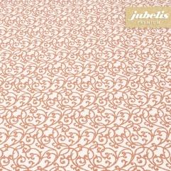 Baumwolle beschichtet abwaschbar Isabell orange III