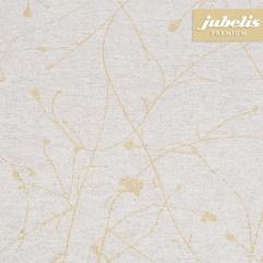Beschichtete Baumwolle strukturiert Benedetta natur-gold III