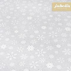 Baumwolle beschichtet strukturiert Ice Star grau III 230 cm x 140 cm