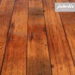 Wachstuch Holz dunkelbraun P 250 cm x 140 cm