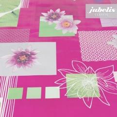Wachstuch Seerose pink II