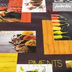 Wachstuch Paprika P 110 cm x 140 cm Küchentisch