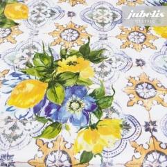 Wachstuch Dolores gelb I 160 cm x 140 cm Bauerntisch