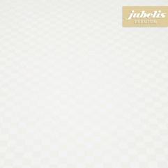 Wachstuch extradick mit Vlies Caleb weiß F 200 cm x 140 cm