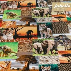 Textiler Luxus-Tischbelag Animali esotici III