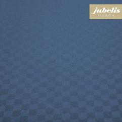 Textiler Luxus-Tischbelag Grado mittelblau III