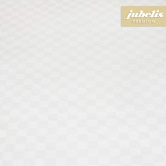 Textiler Luxus-Tischbelag Grado weiß III