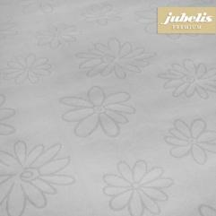 Textiler Luxus-Tischbelag Messina pastellgrau  III