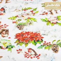 Textiler Luxus-Tischbelag Winter Romance III