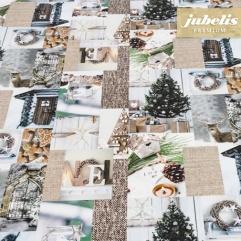 Textiler Luxus-Tischbelag Wintry Moments III