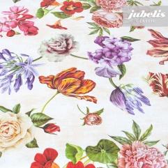 Wachstuch Blumen-Mix I 100 cm x 140 cm