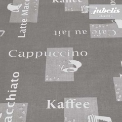Wachstuch Cappuccino grau H