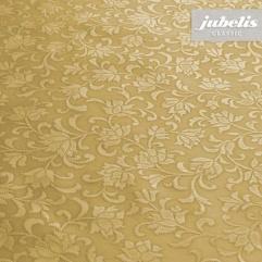 Wachstuch Clavis gold geprägt P 110 cm x 140 cm Küchentisch