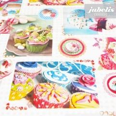Wachstuch Cupcake H 170 cm x 140 cm