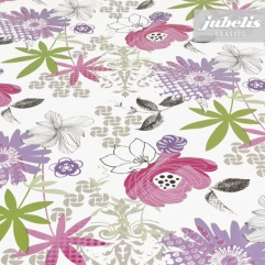 Wachstuch Felicia lila-malve H
