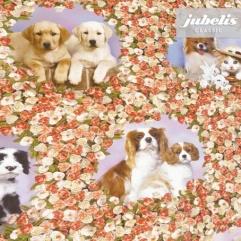 Wachstuch Hunde Katzen 81 A R 180 cm x 140 cm