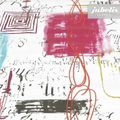 Wachstuch Lesley türkis-pink H 170 cm x 140 cm