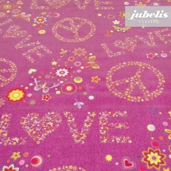 Wachstuch Lovely pink H R