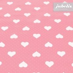 Wachstuch Romance rosa H 190 cm x 140 cm