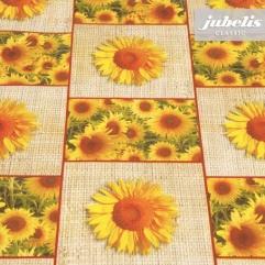 Wachstuch Sonnenblumen P 160 cm x 140 cm Bauerntisch