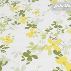 Wachstuch Verenice grün-gelb H 180 cm x 140 cm