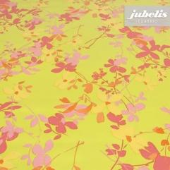 Wachstuch Verenice pink-pistazie H 280 cm x 140 cm