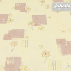 Wachstuch Viola gelb-beige H
