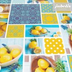 Wachstuch Lemon P 110 cm x 140 cm Küchentisch