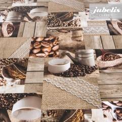 Wachstuch Coffeetime I 170 cm x 140 cm