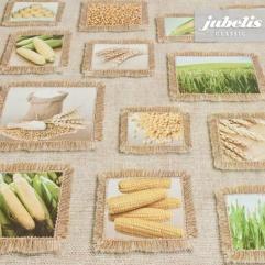 Wachstuch Mais und Getreide P