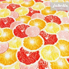 Wachstuch Orangen I 160 cm x 140 cm Bauerntisch
