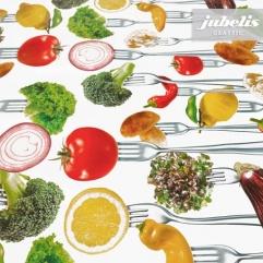 Wachstuch Gemüse Vegetables II 110 cm x 140 cm Küchentisch