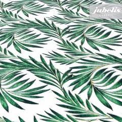 Wachstuch Exotic chic grün I 110 cm x 140 cm Küchentisch