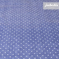 Wachstuch Polka Dot denim H