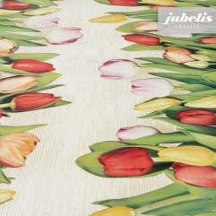Wachstuch Tulpen II 180 cm x 140 cm