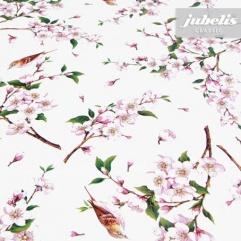 Wachstuch Kirschblüte I 160 cm x 140 cm Bauerntisch