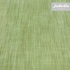 Wachstuch Leinen grün I 140 cm Durchmesser rund