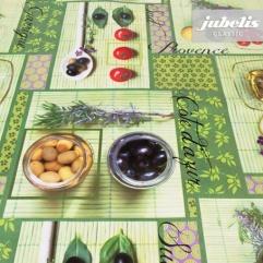 Wachstuch Tomaten und Oliven P