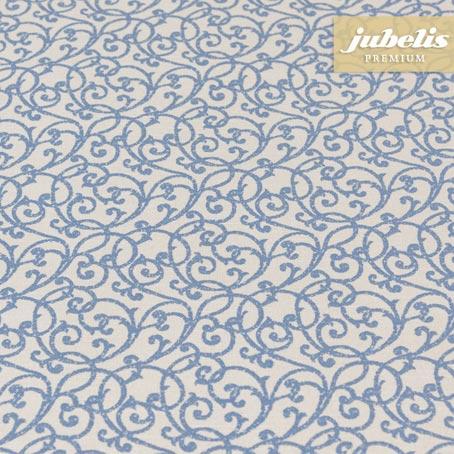Baumwolle beschichtet strukturiert Isabell blau III